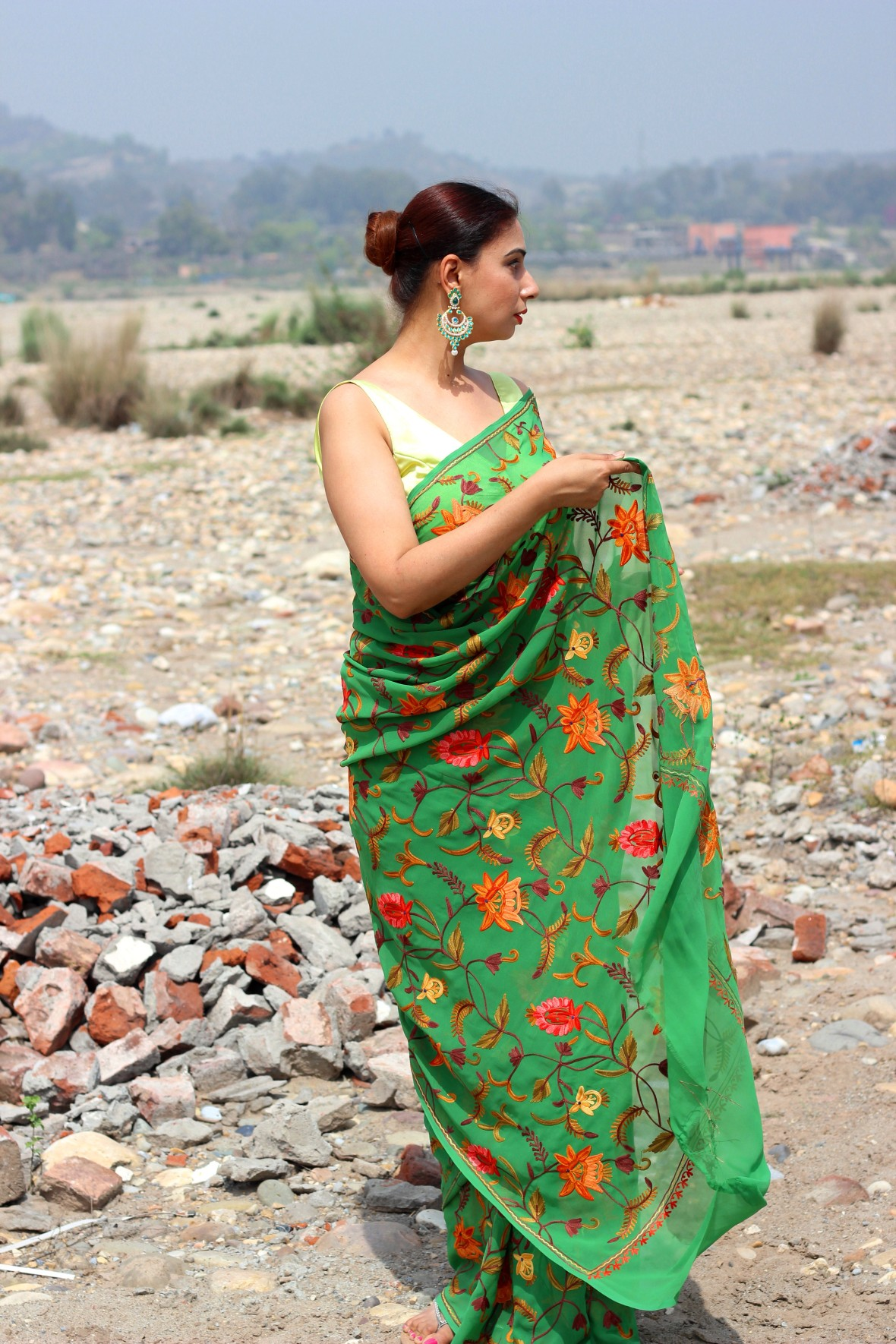 Buy readymade saree blouse online