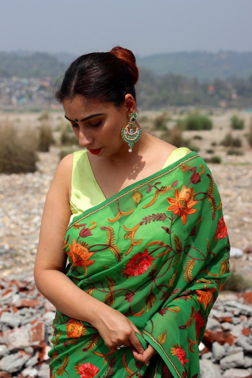 Readymade designer saree blouses online