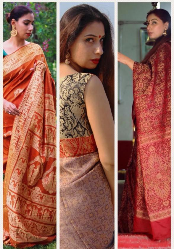 Designer lehenga sarees online shopping