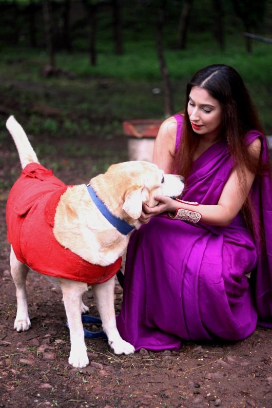 buy designer sarees online @ Pink Paparazzi