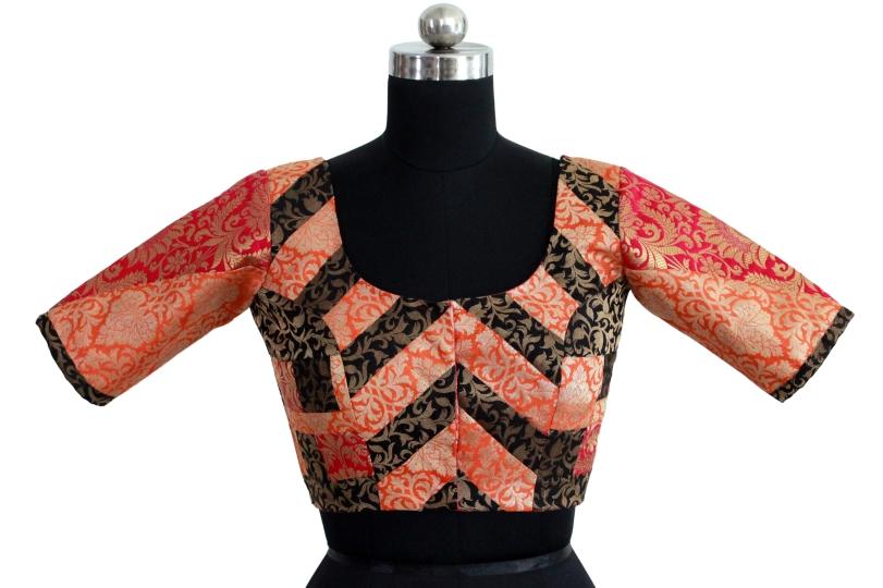 readymade designer saree blouses online @ pink paparazzi (6)
