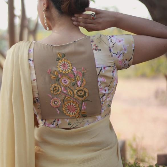 Designer lehenga sarees online shopping @ Pink Paparazzi (9)