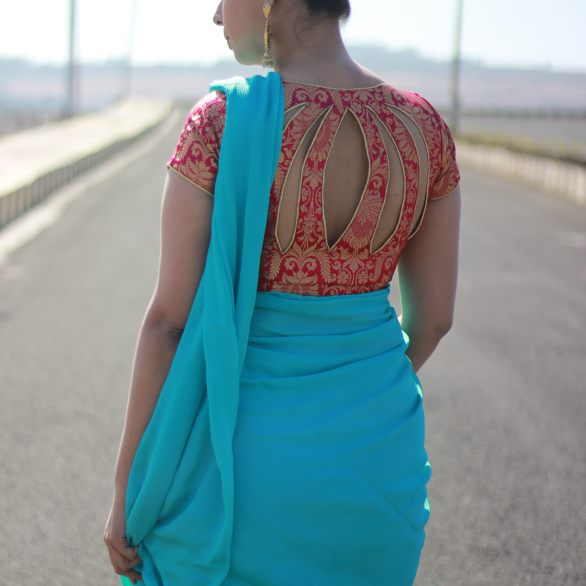 Designer sarees and blouses shop - Pink Paparazzi (2)