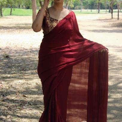 Designer sarees and blouses shop - Pink Paparazzi (3)