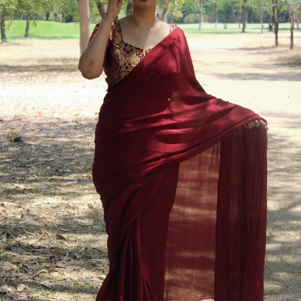 Designer sarees and blouses shop - Pink Paparazzi (3)