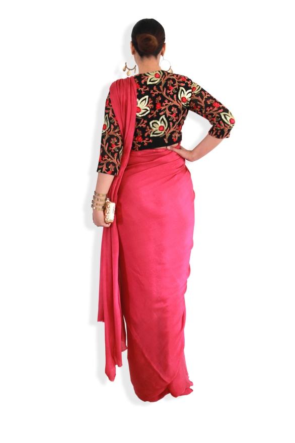 Designer sarees and blouses shop - Pink Paparazzi