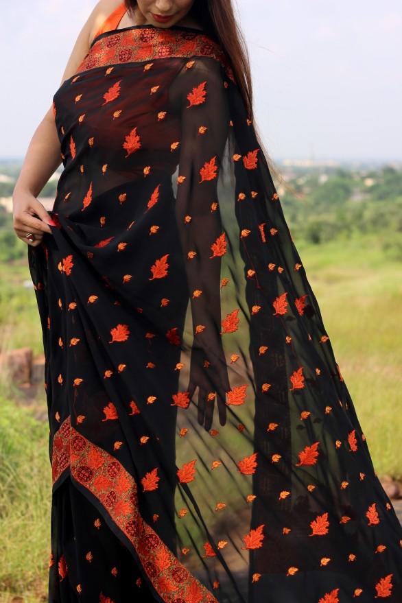 Designer lehenga sarees online shopping- Pink Paparazzi